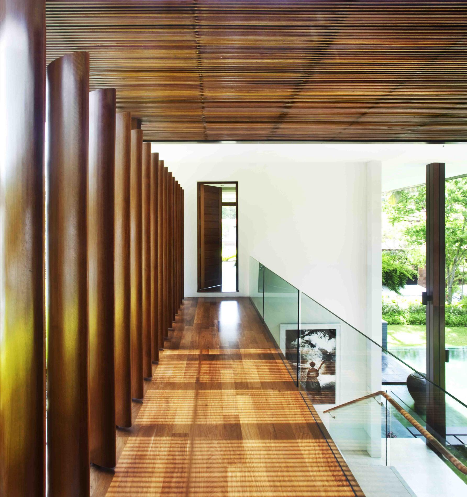 The Sun House By Guz Architects A Hevean Of Green In: Tropical Dream By Guz Architects, Singapore.