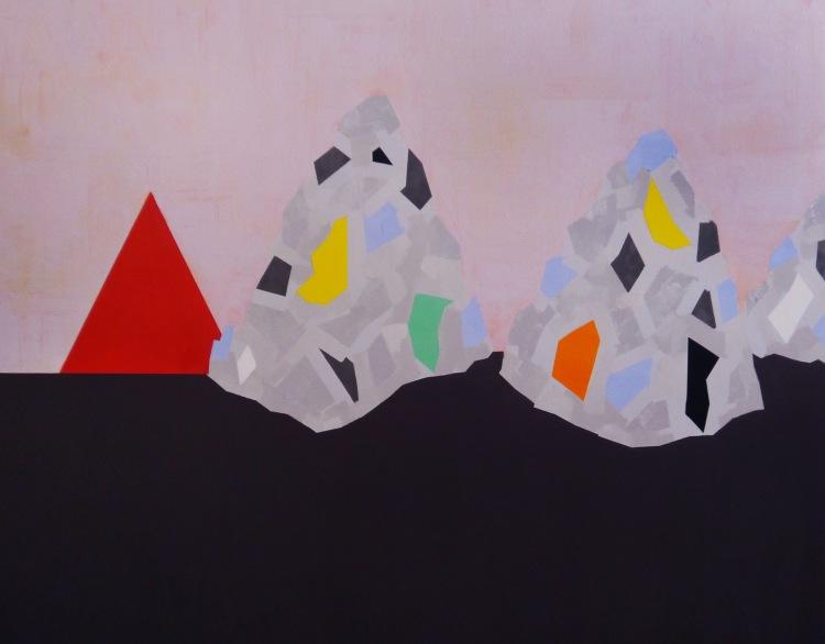 Islands 2015 Oil on Canvas 110 x 140cm