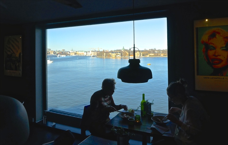 If you are ever at Fotografiska, be sure to go to their restaurant on the 4th Floor, absolutely stunning views.