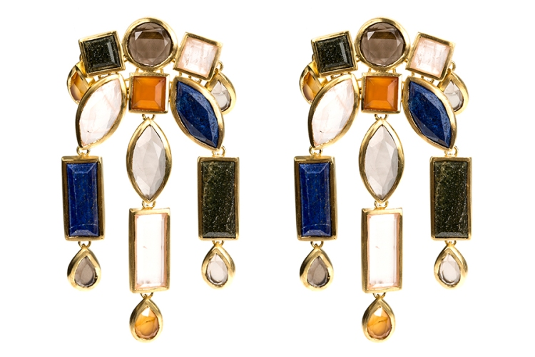Irma Palace Amazon Earrings.