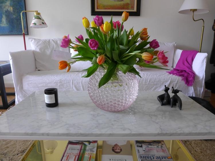 Birthday bouquet.