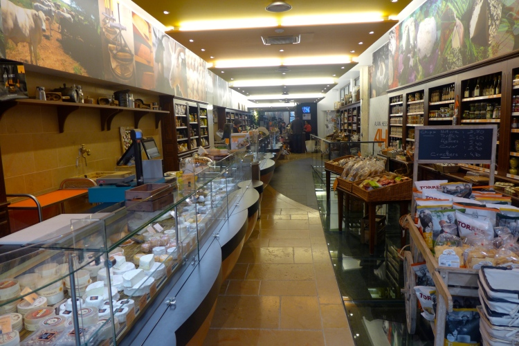 Alain Hess, great selection of cheese and gourmet items.
