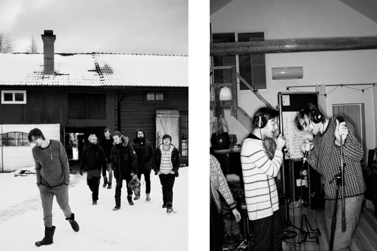 Swedish Band Mando Diao.
