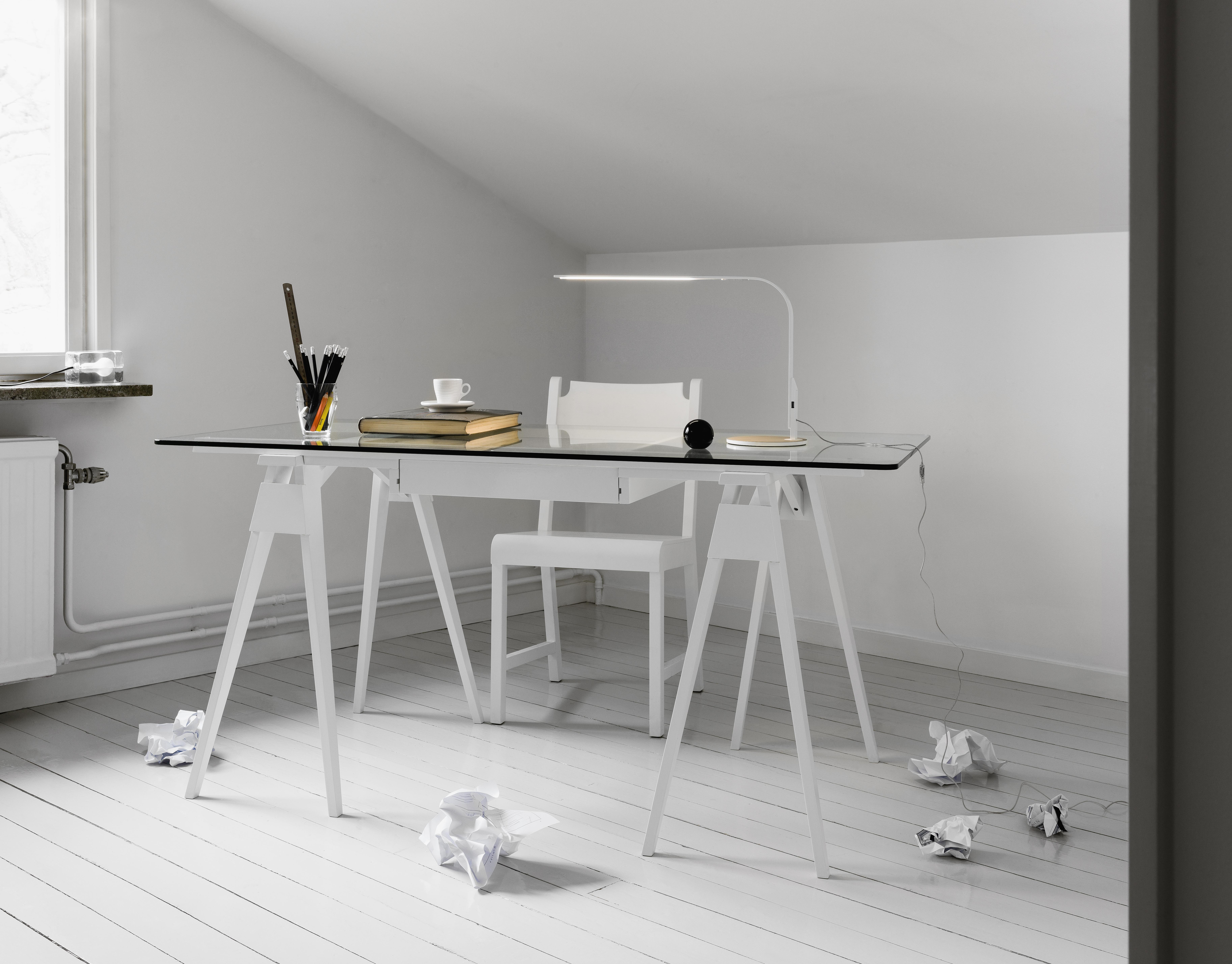 Arco Desk White For Design House Stockholm.