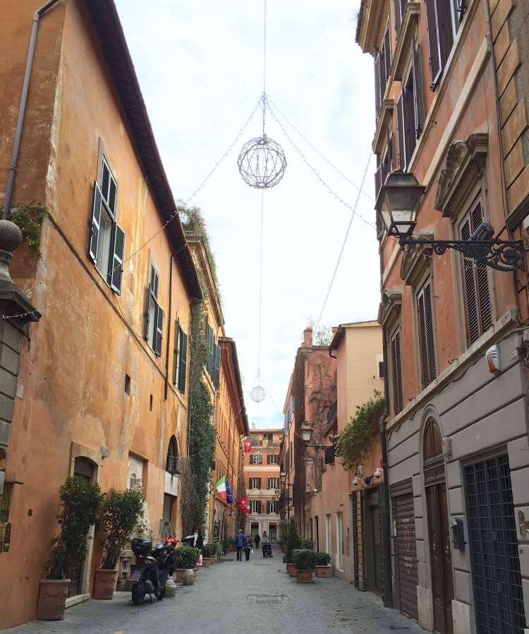 The areas around Via Margutta and Via del Babuino are very charming little streets filled with boutiques and cafes.