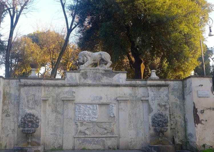 Borghese Gardens, Rome.