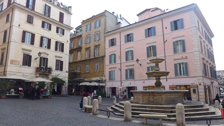Walking around the bohemian and hip Monti neighbourhood is a must.