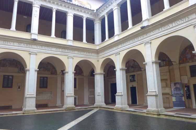 Santa Maria della Pace from the 15th century.
