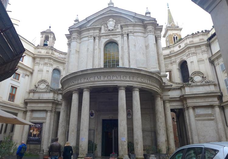 15th Century Santa Maria della Pace , close to the Piazza Navona.