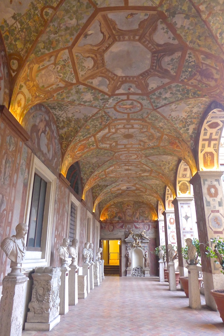 Painted Loggia at Palazzo Altemps.