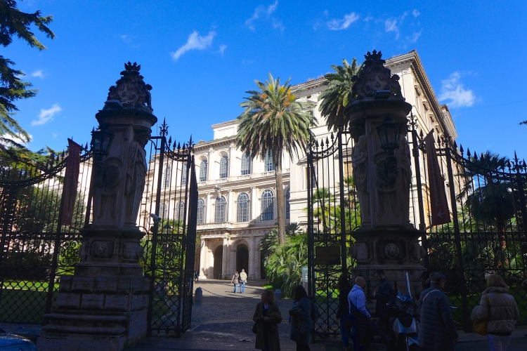 The Palazzo Barberini houses one of Italy's most prized collections of paintings.