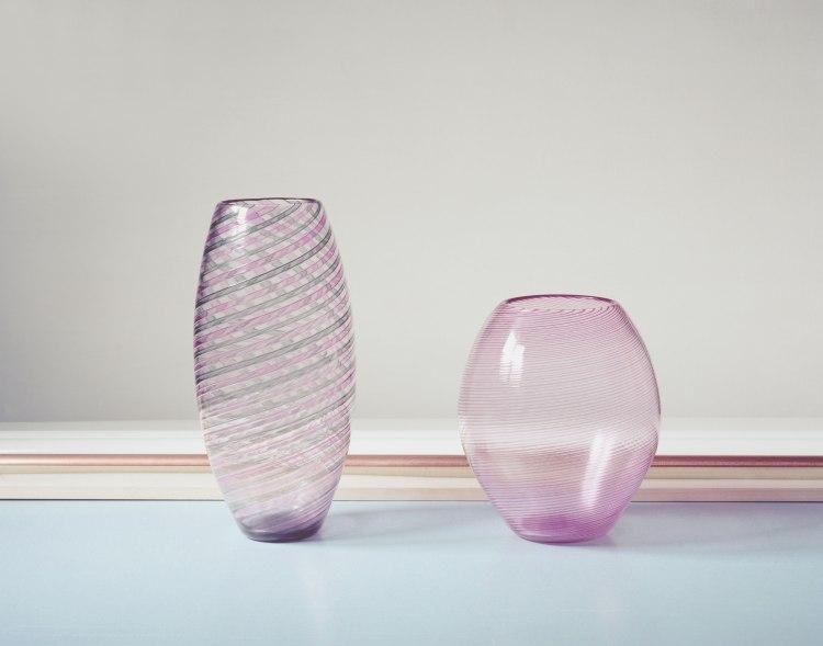 Vanina Vanini hand blown glass collection.