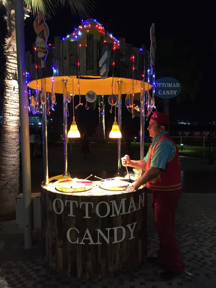 Ottoman Candy man at The Walk, JBR.