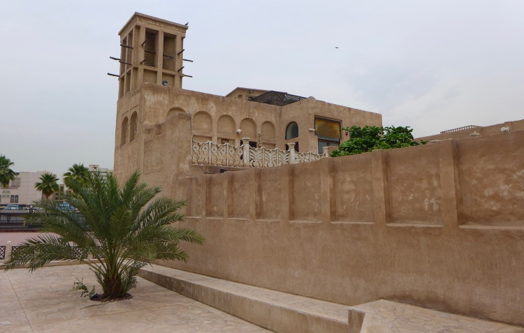 Al Bastakiya quarter, built by Persian traders in the 19th century.