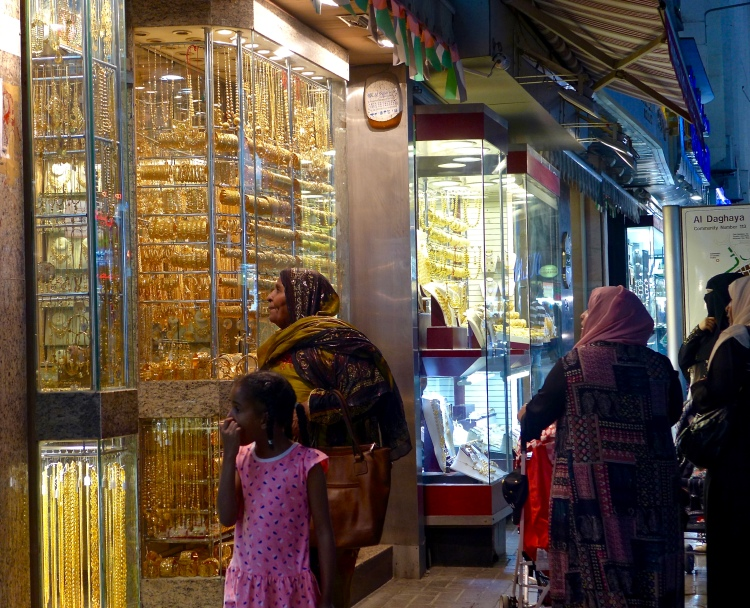 Gold Souk, get ready to be dazzled. Deira Dubai.