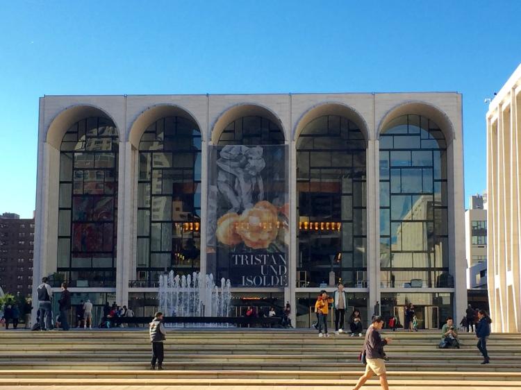 The Metropolitan Opera.