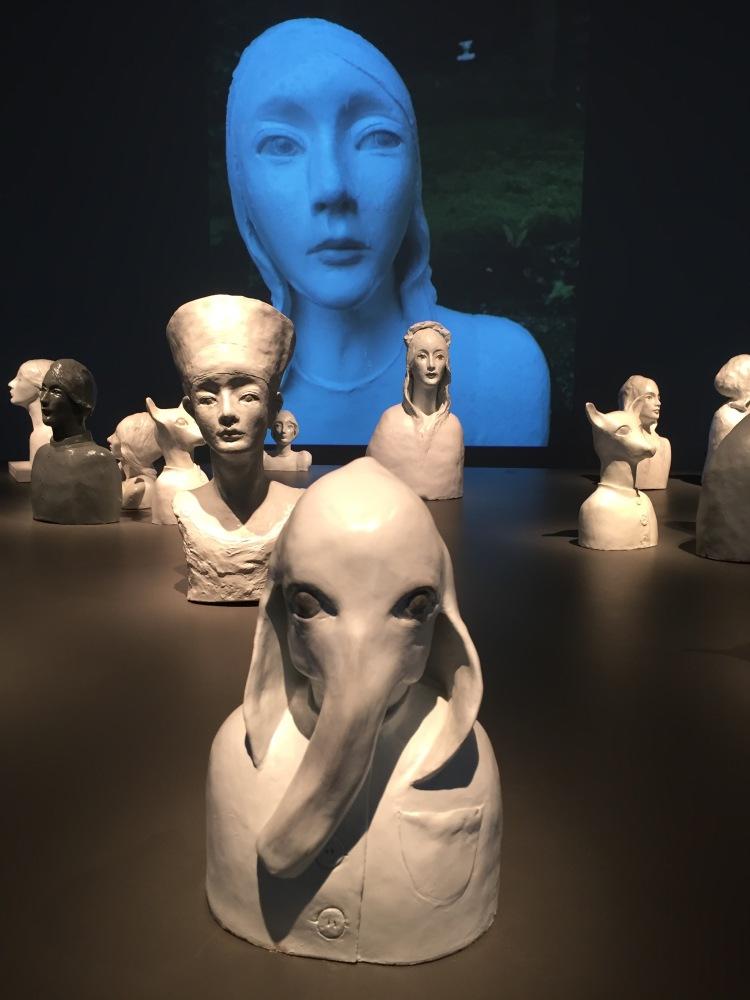Karin Wiberg Exhibition at Dunkers Kulturhus, Helsingborg 2016.