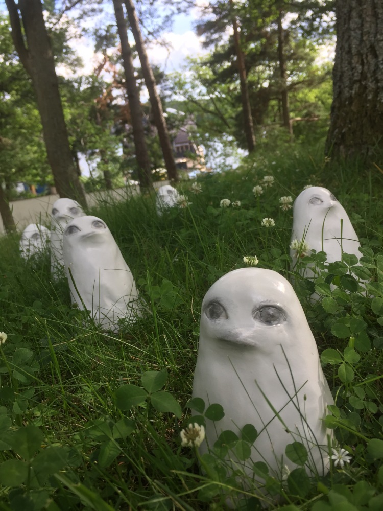 Forest Ghosts. Karin Wiberg Thielska. V Söderqvist Blog
