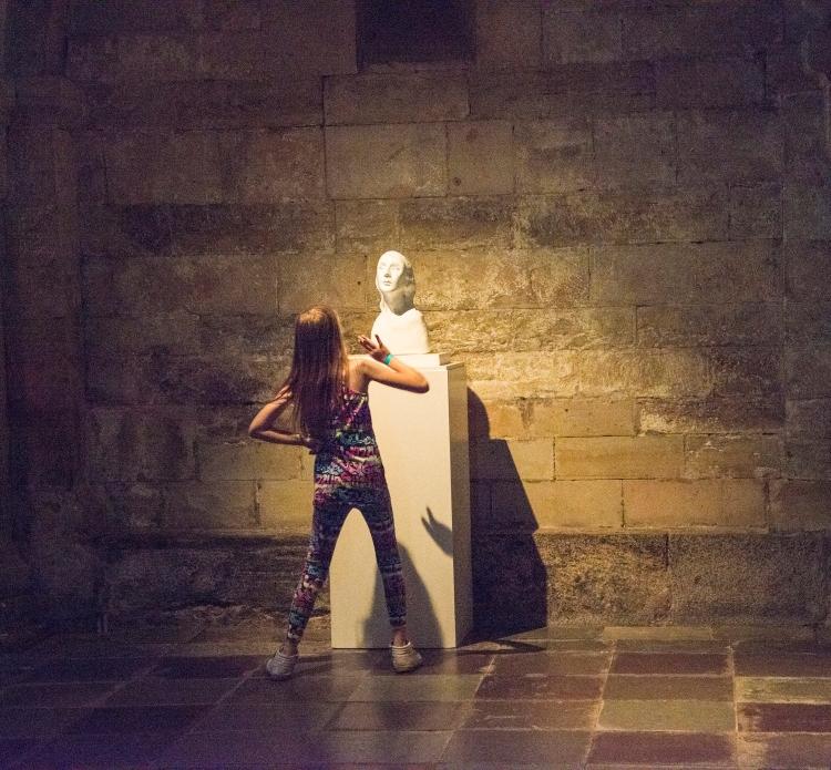 Karin Wiberg Exhibition Crypt Lund Cathedral 2014.