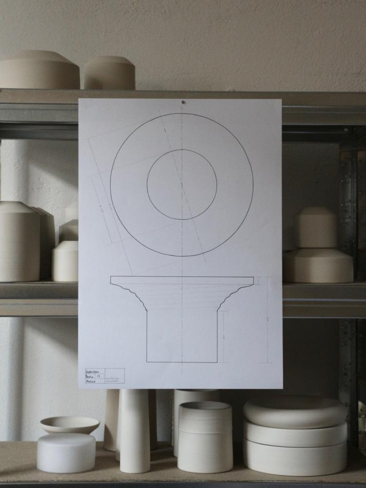Water Tower drawing. Alexandra Nilasdotter. V Söderqvist Art & Design Talks.